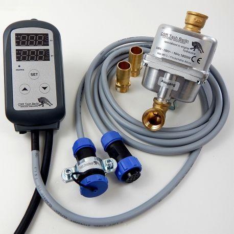 Motorvorwärmer 230V 1800w mit IP68 Zusatzanschlusskabel und Temperaturregler